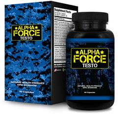 Bottle of Alpha Force Testo