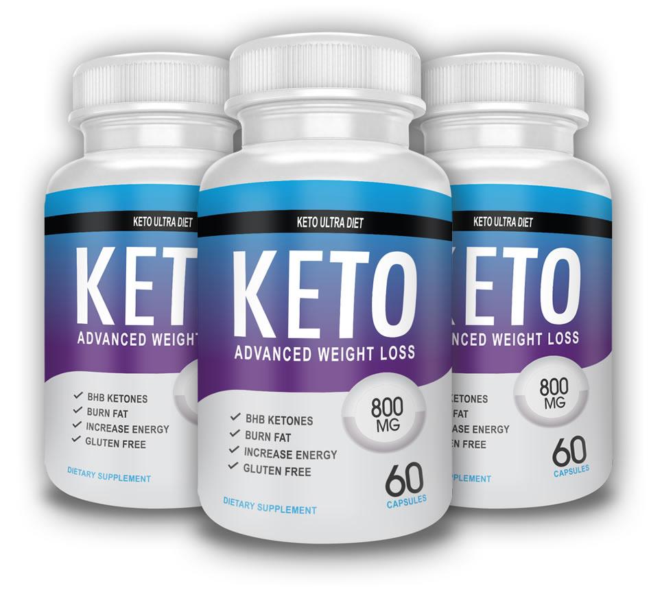 Bottles of Keto Ultra Diet